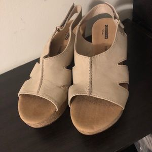 Clarks Wedge Heel